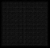 Teste padrão da serra de vaivém do enigma Foto de Stock