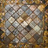 Teste padrão da telha cerâmica Fotografia de Stock
