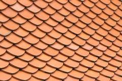 Teste padrão da telha de telhado Foto de Stock Royalty Free