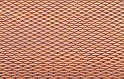 Teste padrão da telha de telhado fotografia de stock