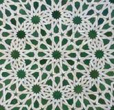 Teste padrão da telha de Zellige do marroquino Imagem de Stock Royalty Free