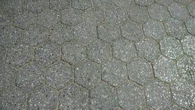 Teste padrão da telha no castelo do Belvedere no Central Park imagens de stock
