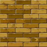 Teste padrão da textura do fundo da parede de tijolo do vetor Imagens de Stock Royalty Free