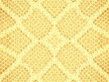 Teste padrão da textura do laço no ouro Imagens de Stock
