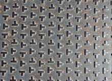 Teste padrão da textura do metal Fotografia de Stock