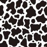 Teste padrão da vaca Foto de Stock Royalty Free