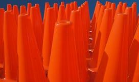 Teste padrão da zona do cone Fotografia de Stock