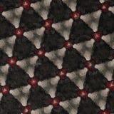 Teste padrão dado forma triângulo pintado Digitas Foto de Stock