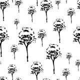 Teste padrão das árvores Foto de Stock