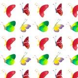 Teste padrão das borboletas Fotografia de Stock