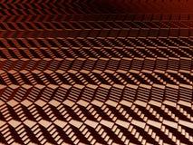 Teste padrão das escadas 3d ilustração do vetor