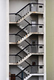 Teste padrão das escadas Imagens de Stock Royalty Free