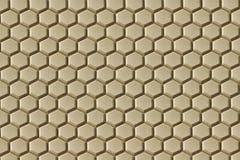 Teste padrão das esteiras de borracha do assoalho da favo de mel-textura para a finalidade antiderrapante Fotos de Stock Royalty Free