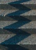Teste padrão das etapas e das sombras fotografia de stock