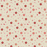 Teste padrão das flores de sakura Imagem de Stock