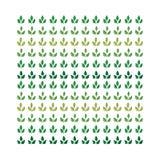 Teste padrão das folhas Imagens de Stock Royalty Free