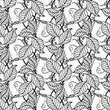 Teste padrão 003 das folhas Foto de Stock Royalty Free