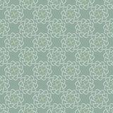 Teste padrão das folhas ou dos corações da luz no fundo do verde azeitona Fotos de Stock Royalty Free