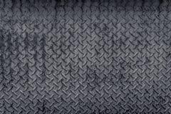 Teste padrão de aço do Grunge com a foto de cor preto e branco Jakarta recolhido Indonésia Imagens de Stock Royalty Free