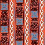 Teste padrão de Adinkra do africano Imagem de Stock Royalty Free