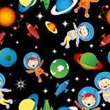 Teste padrão de Astrounauts Fotografia de Stock Royalty Free