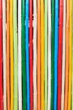 Teste padrão de bambu Foto de Stock