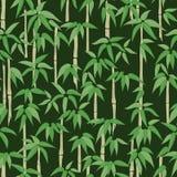 Teste padrão de bambu Imagens de Stock Royalty Free