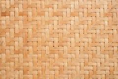 Teste padrão de bambu Foto de Stock Royalty Free