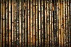 Teste padrão de bambu do fundo Imagens de Stock Royalty Free