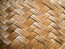 Teste padrão de bambu do weave Imagem de Stock