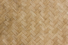 Teste padrão de bambu do weave Imagens de Stock Royalty Free