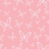 Teste padrão de borboleta Fotografia de Stock