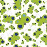 Teste padrão de borboleta Imagem de Stock