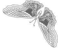 Teste padrão de borboleta Foto de Stock Royalty Free