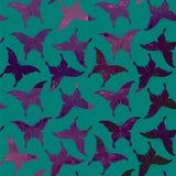 Teste padrão de borboleta colorido sem emenda Imagem de Stock