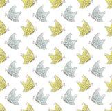 Teste padrão de borboletas Imagens de Stock Royalty Free