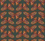 Teste padrão de borboletas coloridas Imagem de Stock