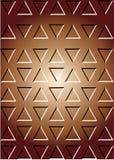 Teste padrão de bronze Imagem de Stock