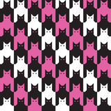Teste padrão de Catstooth Imagens de Stock