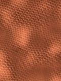 Teste padrão de cobre da pele de serpente ilustração do vetor