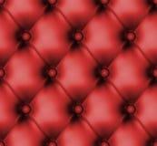 Teste padrão de couro abotoado luxo. EPS 8 Imagens de Stock