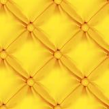 Teste padrão de couro sem emenda alaranjado de estofamento Foto de Stock Royalty Free