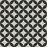 Teste padrão de cruzamento dos círculos Fotografia de Stock