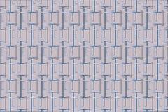 Teste padrão de cruzamento dos quadrados ilustração do vetor
