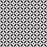 Teste padrão de cruzamento sem emenda do círculo Fotos de Stock Royalty Free