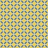 Teste padrão de cruzamento sem emenda do círculo Fotos de Stock