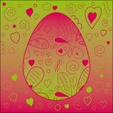 Teste padrão de Easter Imagem de Stock Royalty Free