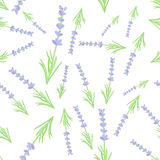 Teste padrão de envolvimento sem emenda pastel de matéria têxtil de Lavander Fotos de Stock Royalty Free