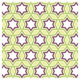 Teste padrão de estrela abstrato Imagens de Stock Royalty Free