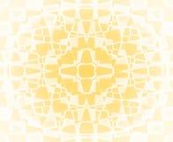 Teste padrão de estrela amarelo e branco Foto de Stock